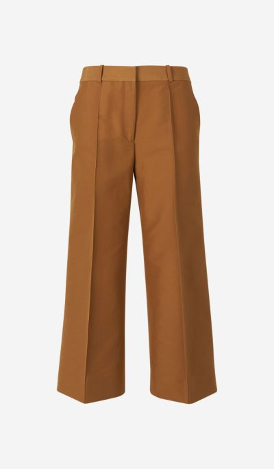 Camel Cotton Culottes