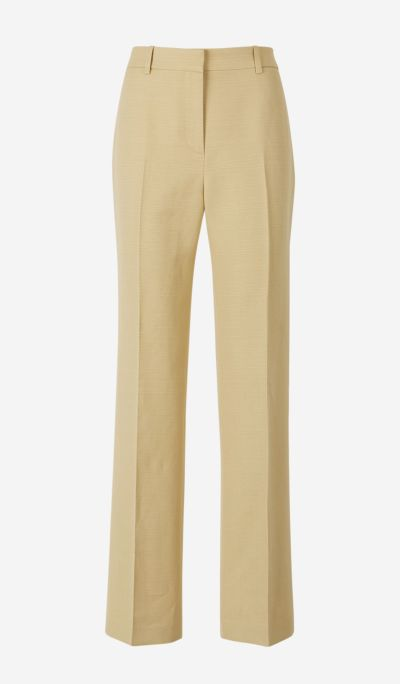 Linen and Cotton Suit Trousers