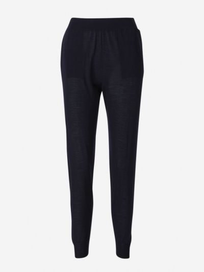 Virgin Wool Joggers