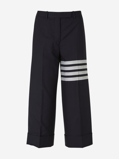 Cropped 4 Stripes Pants