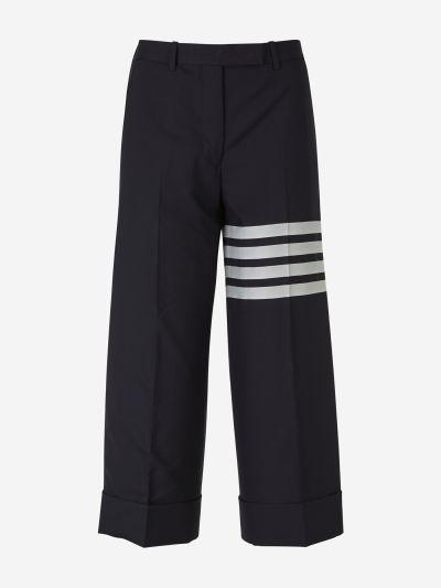 Cropped 4 Stripes Pants