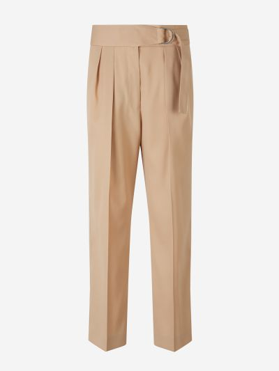 Buckle Waist Trousers