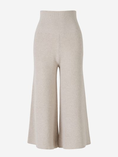 Wool And Alpaca Pants
