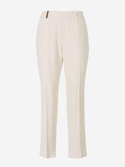 Flowy Crepe Pants