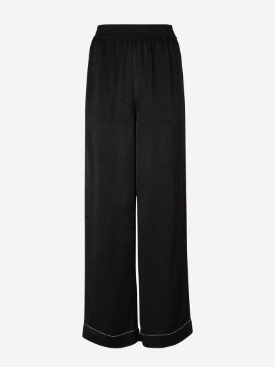 Crepe Flowy Pants