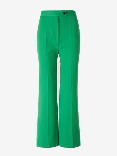 Pantalones Cropped Acampanados