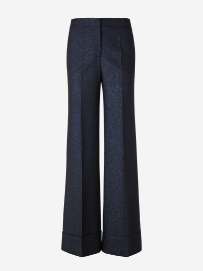 Wide Lurex Pants
