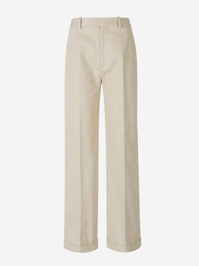 Wide Twill Pants