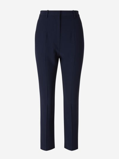 Cropped Tailored Pants