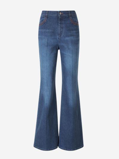 Pantalons Amples Denim
