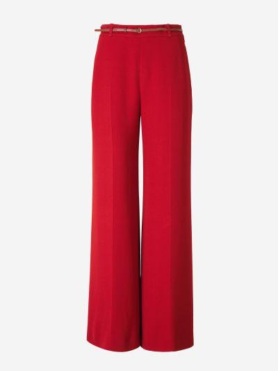 Wide Crepe Pants