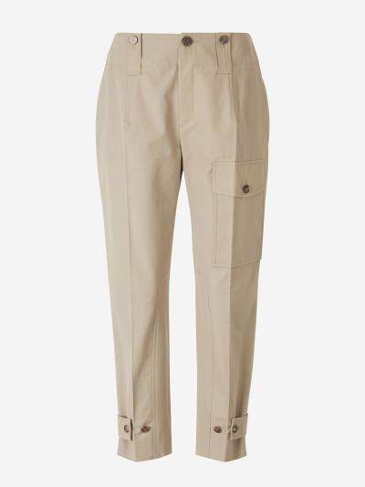 Canvas Cargo Pants