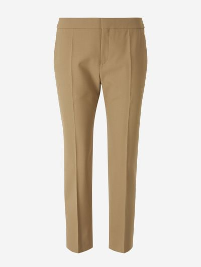 Fitted Wool Pants