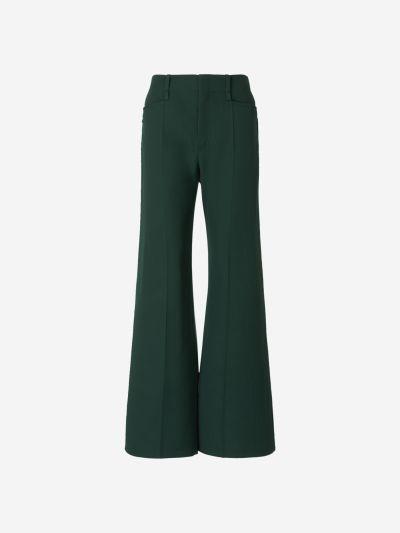 Wool Darts Pants