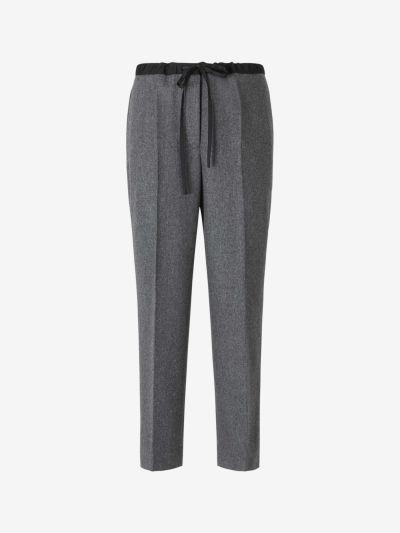 Wool Darts Trousers