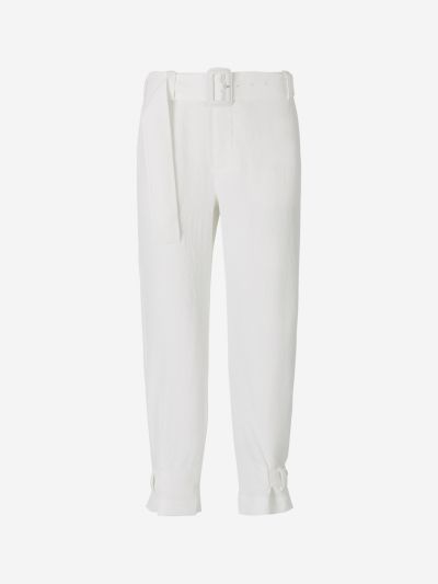 Wide Belt Pants