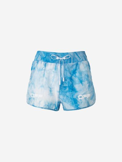 Shorts All Over Tie-Dye