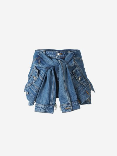 Shorts Combinats Denim