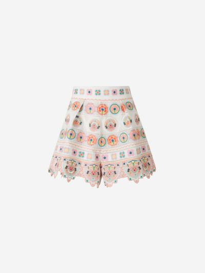 Brighton Embroidered Shorts