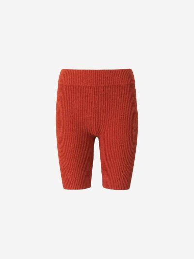 Organic Cotton Knit Shorts