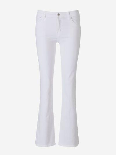 Jeans Boot-Cut Blanc