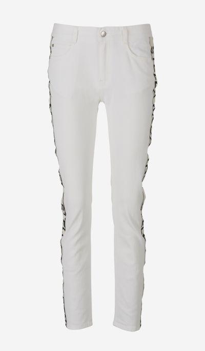 Jeans Slim Franja Logo