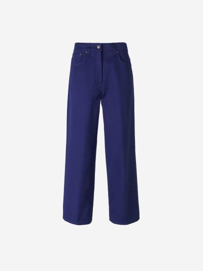 Wide Cotton Pants