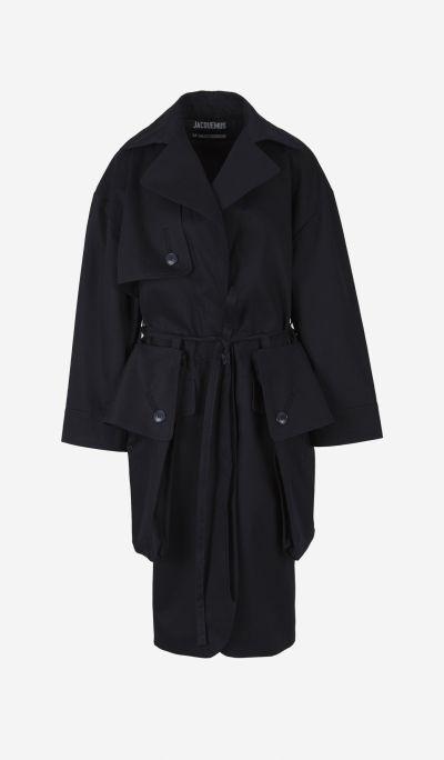 Le Manteau Bagli gabardine