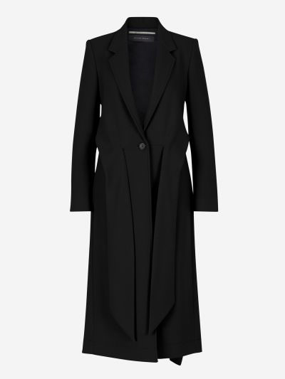 Hollywell crepe coat