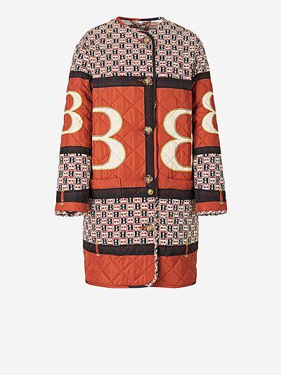 Bandana Print Coat