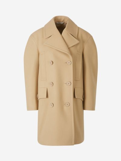 Double Button Coat