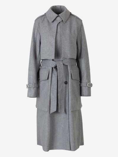 Jonah Wool Trench Coat