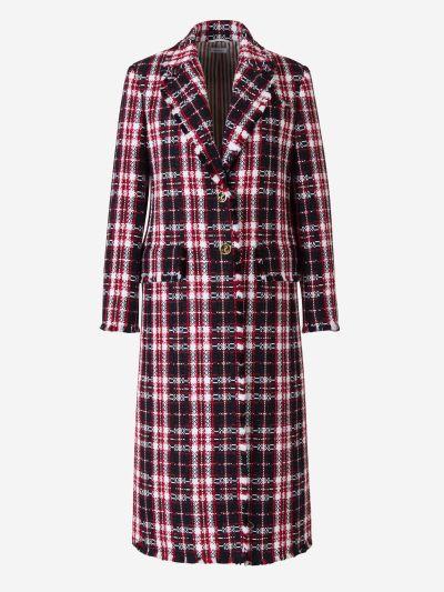 Tweed Tartan Coat