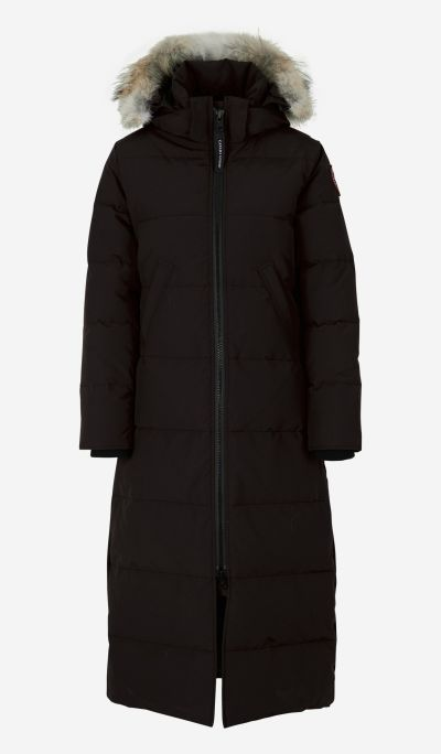 Mystique long padded parka