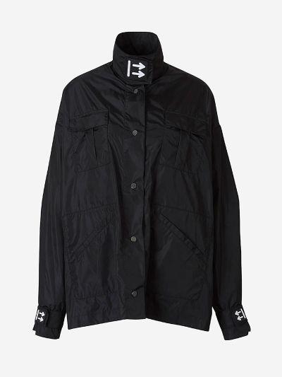 Oversized Track jacket