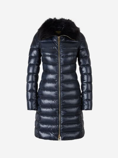 Fur Quilted Coat