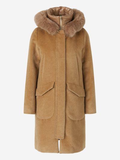Fur Hood Coat