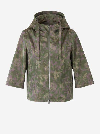 Camouflage Print Jacket