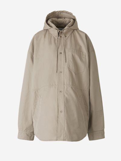 Cotton Shirt Parka