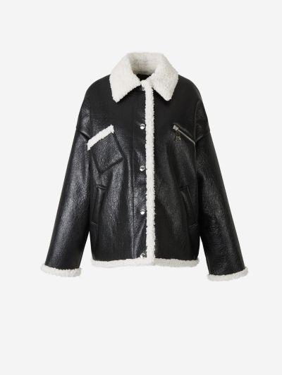 Contrast Biker Jacket