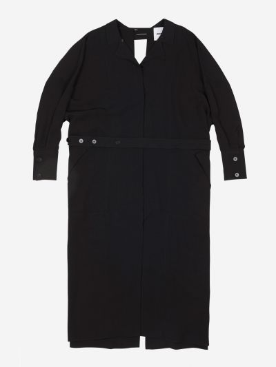 Trench Coat with a back opening
