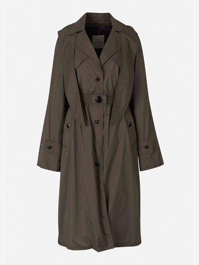 Vermeil Quilted Trench Coat