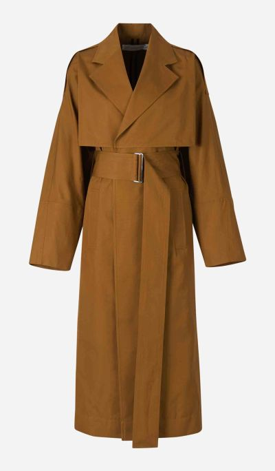 Independent Sleeve Trench Coat