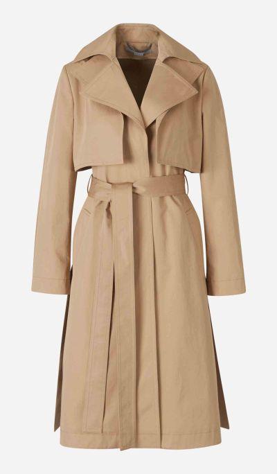Cotton Yoked Trench Coat