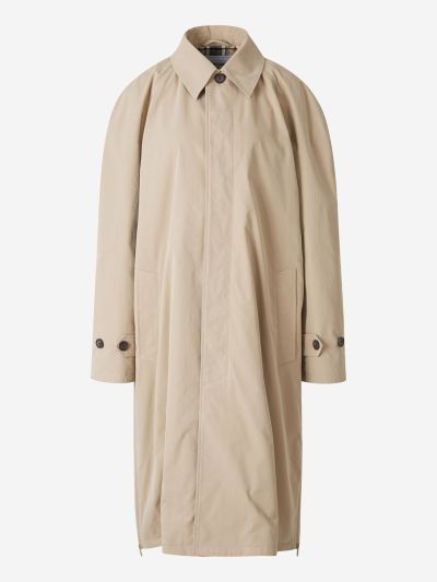 Side Openings Trench Coat