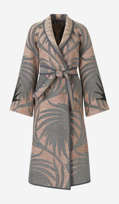 Printed Reversible Coat