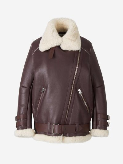 Velocite Leather And Shearling Jacket