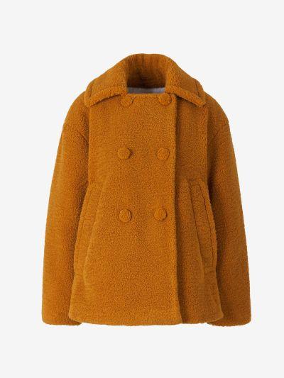 Textured Teddy Coat