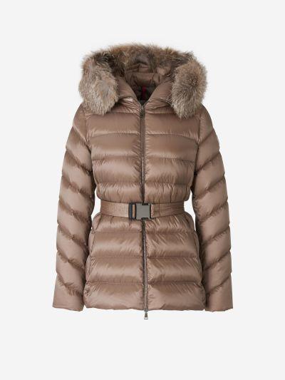 Padded Fur Jacket