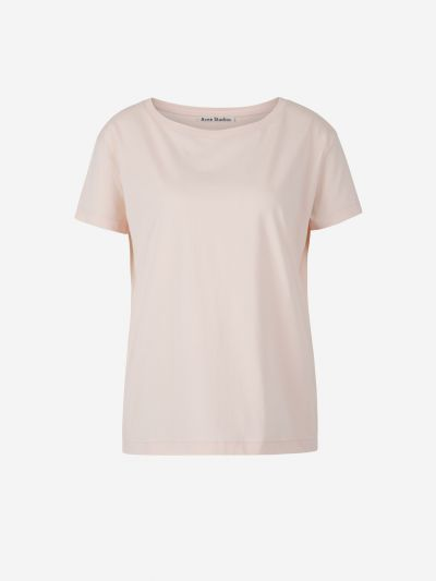 Smooth cotton t-shirt